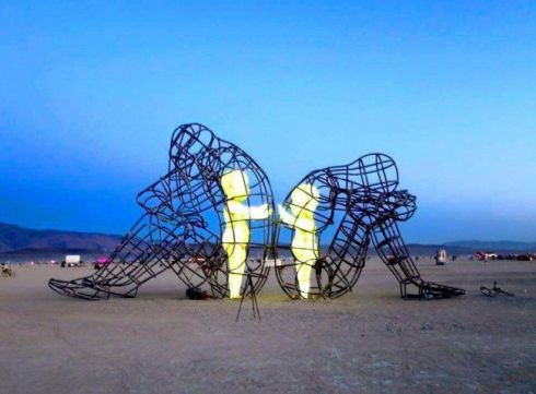 Love, Burning Man-USA